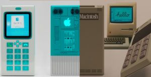 This render imagines an iPhone based-on Apple's old school computers