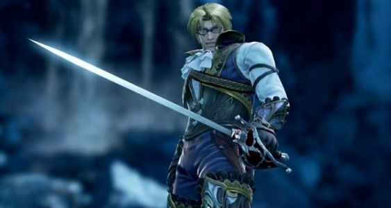Raphael shows the SoulCalibur VI roster the finer points of fencing in his official reveal trailer