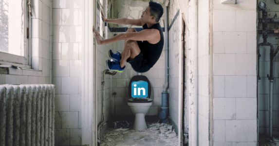 LinkedIn is a hellhole and this Twitter account proves it