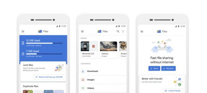 Files Go rebranded to 'Files by Google' and updated with a new UI