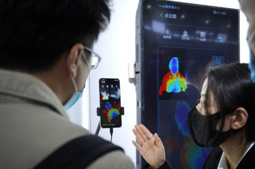 ZTE Demos World's First Under-Display Facial Recognition System