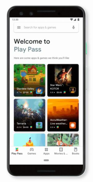 Google Play Pass launches with 350+ premium apps and games, initially for $1.99 per month