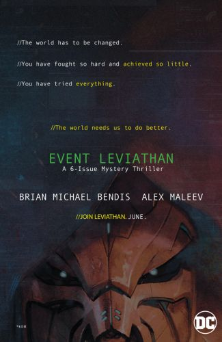 Take A First Look At DC Comics' Mysterious Event Leviathan