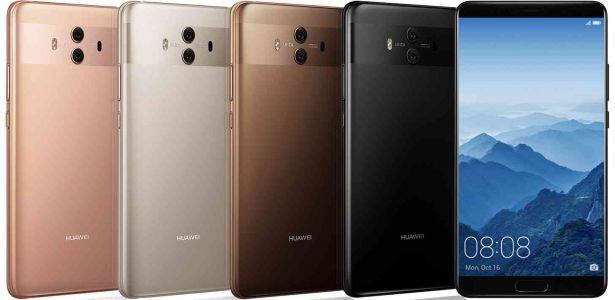 Huawei Mate 10 and Mate 10 Pro official with big screens, dual rear cameras, and Android 8.0 Oreo