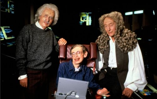 A Brief History of Stephen Hawking's Time on 'Star Trek'