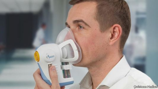 A breathalyser for disease