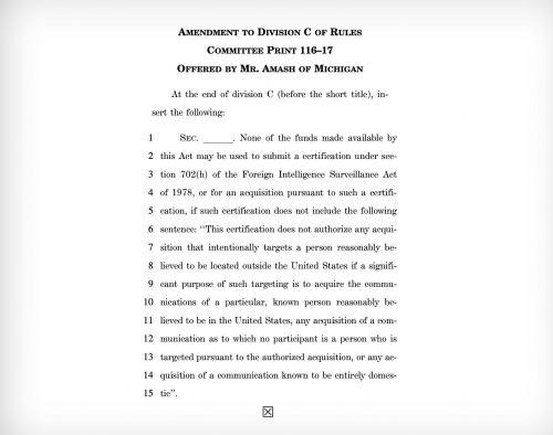 House lawmakers demand end to warrantless collection of Americans' data