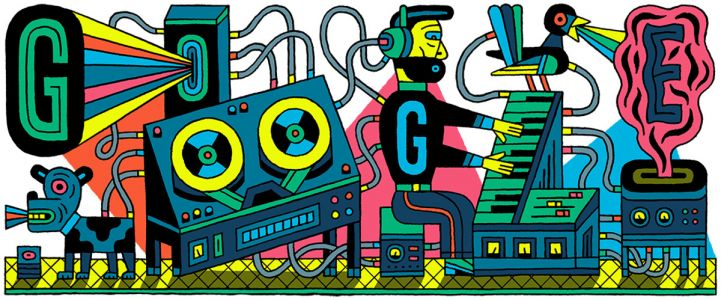 Google Doodle honors the first modern recording studio