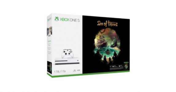 Bon plan:  un pack Xbox One S + Sea of Thieves à 299€