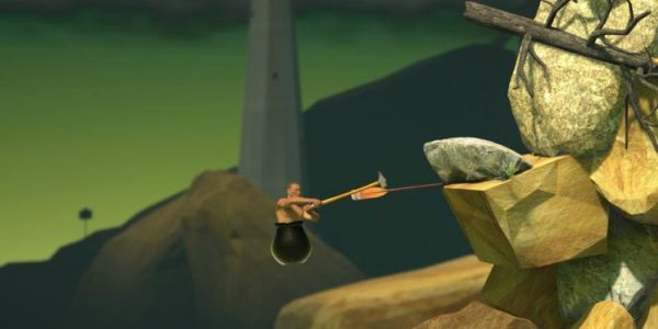The New Speedrun World Record For GETTING OVER IT Is Sickening