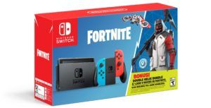 Nintendo reveals Switch Fortnite bundle with included in-game currency