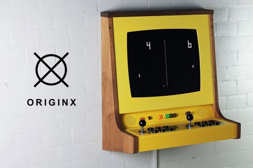 The OriginX is a beautiful, custom-made arcade cabinet for the one percent