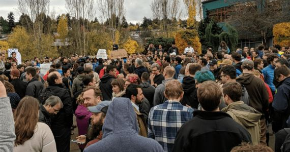 Facebook and Airbnb revise sexual harassment policies after Google protests