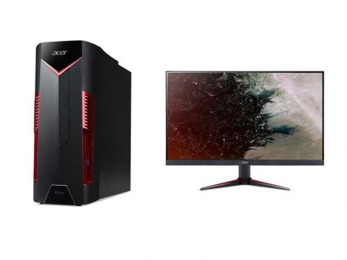 Acer's new Nitro desktop and displays pack power for casual gamers