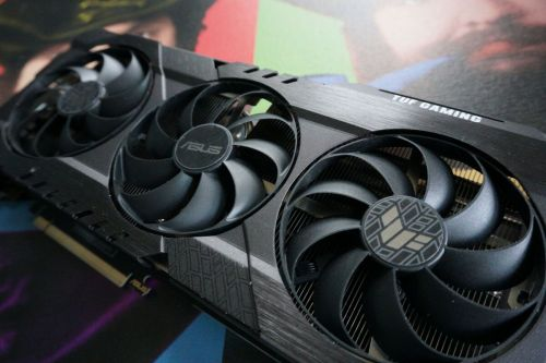 Asus TUF GeForce RTX 3060 Ti review: Stone cold, dead silent