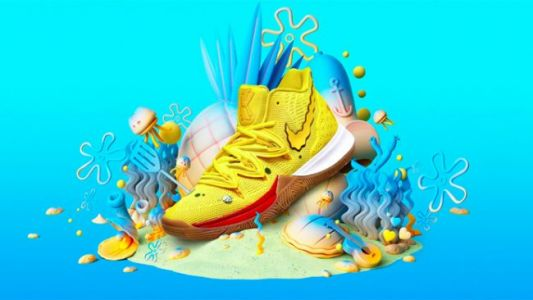 Nike Reveals First Two Commemorative Kyrie 5 'SpongeBob SquarePants' Sneakers