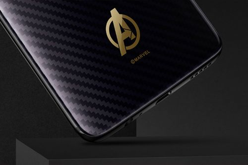 Here's the Avengers edition OnePlus 6