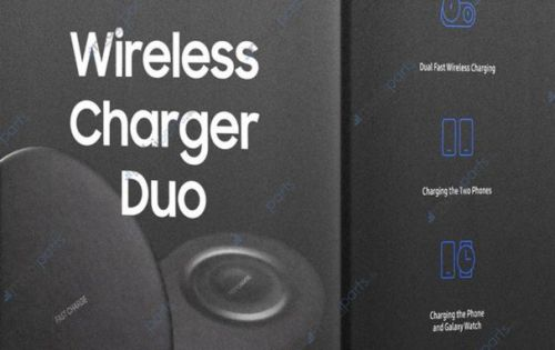 Samsung Wireless Charger Duo for Note 9 leaks, confirming Galaxy Watch