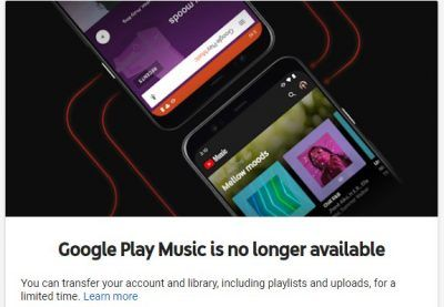 Last call to export your Google Play Music data