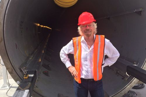 Richard Branson reportedly quits as chairman of Virgin Hyperloop One