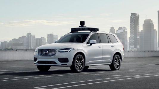 Volvo and Uber's self-driving production car hits the road