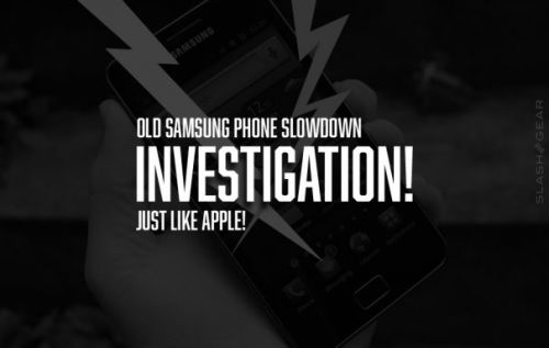 Samsung investigated for old phone slowdown