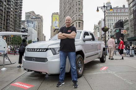 From drones to pickup trucks, Workhorse CEO believes the future is electric