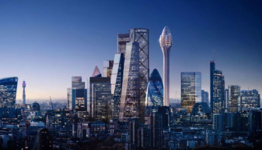 Space-age tower planned for the City of London