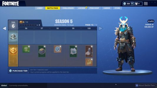 Fortnite Ragnarok Skin: Season 5 Battle Pass's Cool New Level 100 Reward