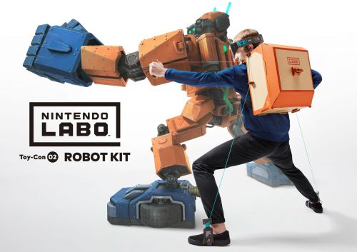 Nintendo Labo kits are available to pre-order