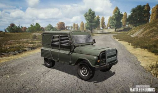 PUBG's Metal Rain mode has armored cars falling from the sky
