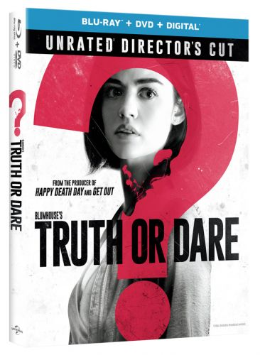 Blumhouse's 'Truth or Dare' Blu-ray, DVD and Digital Bound with Unrated Director's Cut