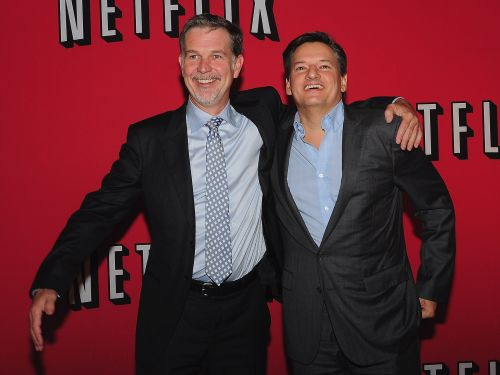 Netflix CEO Reed Hastings' pay rose to $24.4 million last year, amid a period of great growth for the company