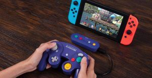 8bitdo's Nintendo Switch adapter makes GameCube controllers wireless