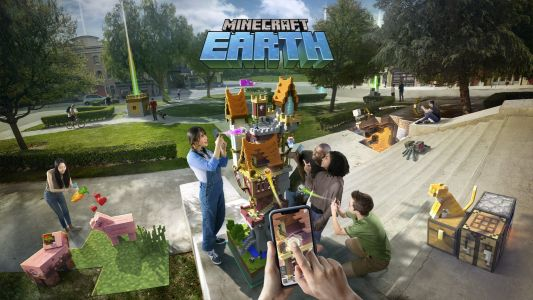 Minecraft Earth goes a step beyond Pokémon Go to cover the world in blocks