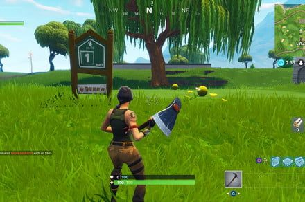 'Fortnite' Hit a golf ball from tee to green challenge guide