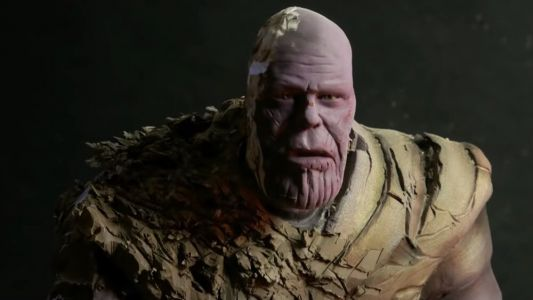 Watch This Thanos Sculpture Being Created Then Turned Into Dust in Time-Lapse Video