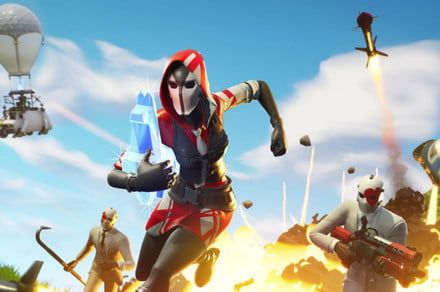 Get a Double Helix set and 1000 V-Bucks with Nintendo Switch's 'Fortnite' bundle