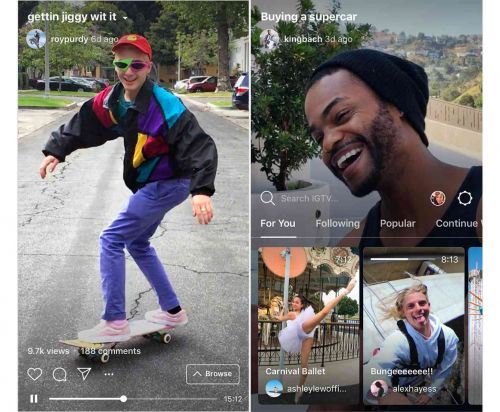 Are you excited about IGTV?