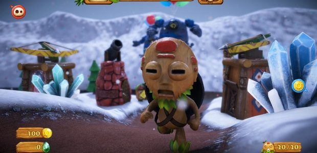I want to touch PixelJunk Monsters 2's claymation world