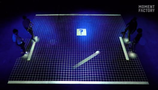 This team turned an entire room into a massive four-player game of Pong