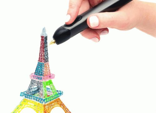 Draw real 3D objects in mid air with this $50 pen
