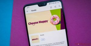 Koodo offering users a 10GB for $14 add-on