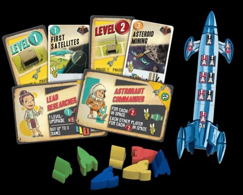 Z-Man Games Announces Lift Off Board Game
