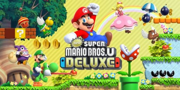Nintendo Switch:  New Super Mario Bros U. Deluxe dispo chez Fnac