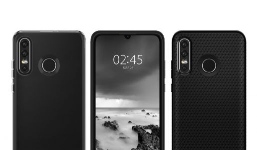 Huawei P30 Lite design unveiled by Spigen cases