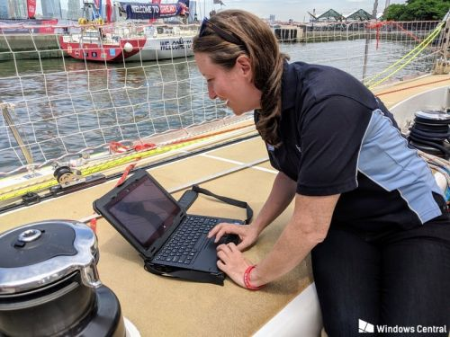 How rugged Dell PCs help Clipper Race ships sail rough seas