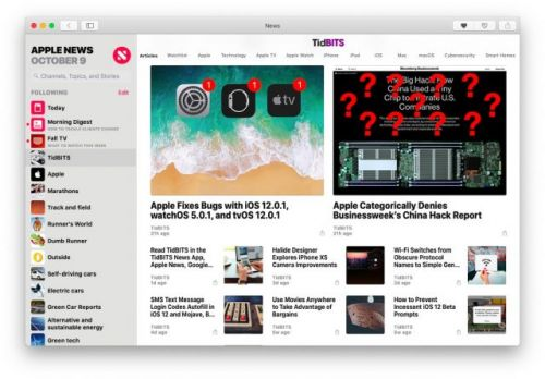 How to Use Apple News in Mojave Regardless of Where You Live