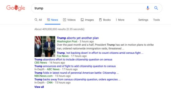 Google's redesigned News tab wants you to know who stories are from - CNET