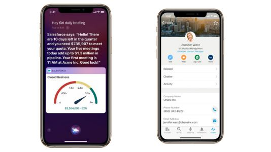 Apple and Salesforce team up on workplace apps